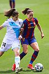 Liga IBERDROLA. Game 26.<br /> FC Barcelona vs RC Deportivo: 9-0.<br /> Helena Torres vs Vicky Losada.