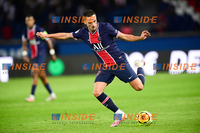 Pablo Sarabia (PSG) <br /> 13/09/2020<br /> Paris Saint Germain PSG vs Olympique Marseille OM <br /> Calcio Ligue 1 2020/2021  <br /> Foto JB Autissier Panoramic/insidefoto <br /> ITALY ONLY