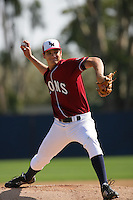 March 23, 2010: Aaron Griffin of Loyola Marymount during game  against Cal. St. Fullerton at LMU in Los Angeles,CA.  Photo by Larry Goren/Four Seam Images