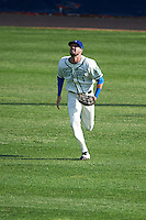 Hartford Yard Goats right fielder David Dahl (1) during the first game of a doubleheader against the Trenton Thunder on June 1, 2016 at Sen. Thomas J. Dodd Memorial Stadium in Norwich, Connecticut.  Trenton defeated Hartford 4-2.  (Mike Janes/Four Seam Images)