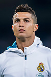 Cristiano Ronaldo of Real Madrid looks prior the La Liga 2017-18 match between Real Madrid and Real Betis at Estadio Santiago Bernabeu on 20 September 2017 in Madrid, Spain. Photo by Diego Gonzalez / Power Sport Images