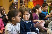 Nursery class at Christ Church Bentinck Church of England Primary School, Westminster, London.