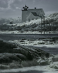Hendricks Head Light, Southport Island, Maine (Infrared)