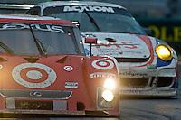 22-25 January, 2009, Daytona Beach, Florida USA.#02 Chip Ganassi Racing with Felix Sabates Lexus/Riley of Scott Dixon, Dario Franchitti & Alex Lloyd.©F.Peirce Williams 2009.F.Peirce Williams.photography