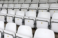 General view of empty seats around the ground ahead of Essex CCC vs Nottinghamshire CCC, LV Insurance County Championship Group 1 Cricket at The Cloudfm County Ground on 4th June 2021