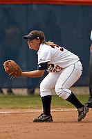 SAN ANTONIO, TX - MARCH 1, 2008: The McNeese State University Cowgirls vs. The University of Texas at San Antonio Roadrunners Softball at Roadrunner Field. (Photo by Jeff Huehn)