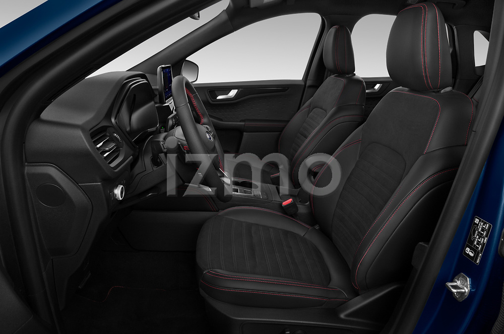 Front seat view of 2020 Ford Kuga ST-Line 5 Door SUV Front Seat  car photos