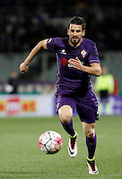 Calcio, Serie A: Fiorentina vs Juventus. Firenze, stadio Artemio Franchi, 24 aprile 2016.<br /> Fiorentina's Nenad Tomovic in action during the Italian Serie A football match between Fiorentina and Juventus at Florence's Artemio Franchi stadium, 24 April 2016. <br /> UPDATE IMAGES PRESS/Isabella Bonotto