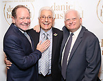 """Michael McKeever, Duffy Violante and Ted Snowdon during the Opening Night Celebration for """"Daniel's Husband"""" at the West Bank on October 28, 2018 in New York City."""
