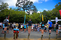 Fans watch the finish of Stage Four - Te Piki - The Climb. 2019 Grassroots Trust NZ Cycle Classic UCI 2.2 Tour from Cambridge, New Zealand on Saturday, 26 January 2019. Photo: Dave Lintott / lintottphoto.co.nz