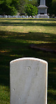 SALISBURY, NC 050521MB37—at the Salisbury National Cemetery in Salisbury, NC. <br /> Martin Begnal Republican American