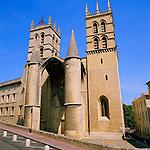 France, Languedoc-Roussillon, Département Hérault, Montpellier: St. Peter's Cathedral | Frankreich, Languedoc-Roussillon, Département Hérault, Montpellier: Hauptstadt der Region Languedoc-Roussillon, Kathedrale Sankt Peter (Saint-Pierre)