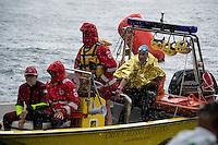 25 km la gara femminile è stata sospesa a 1km dalla fine per avverse condizioni meteo<br /> Omegna, Lago D'Orta<br /> FIN 2016 Campionato Italiano Assoluto Nuoto di Fondo <br /> <br /> Day 05 14-06-2016<br /> Photo Laura Binda/Deepbluemedia/Insidefoto