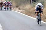 Guy Niv (ISR) Israel Start-Up Nation tries to join the breakaway but fails during Stage 6 of La Vuelta d'Espana 2021, running 158.3km from Requena to Alto de la Montaña Cullera, Spain. 19th August 2021.    <br /> Picture: Luis Angel Gomez/Photogomezsport   Cyclefile<br /> <br /> All photos usage must carry mandatory copyright credit (© Cyclefile   Luis Angel Gomez/Photogomezsport)