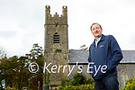 Rev Jim Stephens standing outside the Arabella Church of Ireland in Ballymac as they have received €20,000 in funding for renovations.