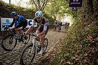 Stijn Vandenbergh (BEL/AG2R-La Mondiale) up the Koppenberg<br /> <br /> 104th Ronde van Vlaanderen 2020 (1.UWT)<br /> 1 day race from Antwerpen to Oudenaarde (BEL/243km) <br /> <br /> ©kramon