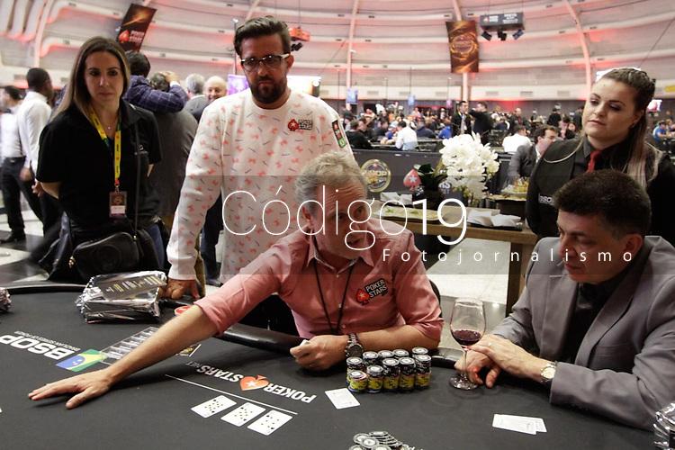 Sao Paulo (SP), 26/11/2019 - BSOP-Millions - Comecou nesta terca-feira (26), o maior torneio de Poker da America Latina, o BSOP Millions. Neste primeiro dia de evento, diversas celebridades se juntam para disputar a famosa ''Mesa das Estrelas''. (Foto: Diego Soares/Codigo 19/Codigo 19)