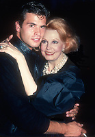 Lorenzo Lamas and mother Arlene Dahl in 1982<br /> Photo By Adam Scull/PHOTOlink.net