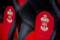 Southampton dugout seats prior to the Premier League match between Southampton and Swansea City  at St Mary's Stadium in Southampton, England, UK. Saturday 17 September 2016