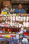 Myanmar, (Burma), Shan State, Kengtung: Local pharmacy and pharmacist | Myanmar (Birma), Shan Staat, Kengtung: die oertliche Apotheke