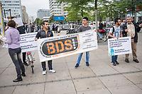 2017/07/25 Berlin | BDS-Kundgebung gegen Hewlett-Packard