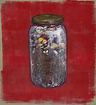 Jar full of diabetic pills
