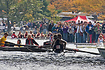 Boston, Rowing, 2006 Head of the Charles Regatta, Peking University, The visiting crew collided with the MIT crew beneath the Weeks Bridge and rowed on with a damaged bow until the bow folded beneath the Eliot Bridge and the Pocock shell sank with all hands. Charles River, Cambridge, Massachusetts, USA,