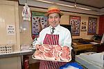 Carmarthen butcher Hugh Evans.