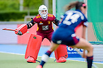 Mannheim, Germany, May 08: During the 1. Bundesliga women fieldhockey semi-final match between Duesseldorfer HC and Club an der Alster on May 8, 2021 at Am Neckarkanal in Mannheim, Germany. (Copyright Dirk Markgraf / www.265-images.com) ***