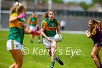 Emma Dineen of Kerry V Wexford in the Lidl LGFA National football league game in Fitzgerald Stadium Killarney on Sunday.