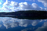 View across the Northwest Arm in the morning HAlifax Nova Scotia Canada