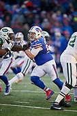 Buffalo Bills defensive end Kyle Williams (95) rushes during an NFL football game against the New York Jets, Sunday, December 9, 2018, in Orchard Park, N.Y.  (Mike Janes Photography)