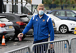 St Johnstone v Galatasaray…12.08.21  McDiarmid Park Europa League Qualifier<br />Shaun Rooney arrives ahead of tonight's game<br />Picture by Graeme Hart.<br />Copyright Perthshire Picture Agency<br />Tel: 01738 623350  Mobile: 07990 594431