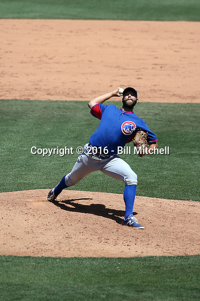 Tommy Nance - Chicago Cubs 2016 extended spring training (Bill Mitchell)