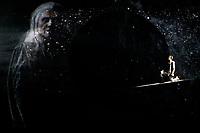 """SÃO PAULO, SP 04.06.2019: MERLIN E ARTHUR-SP - Coletiva de imprensa e passagem de cena do espetáculo musical Ao som de Raul Seixas """"Merlin e Arthur, um sonho de liberdade"""" na tarde desta terça-feira (04) no Teatro Shopping Frei Caneca, zona central da capital paulista. O espetáculo fica e cartaz de 07 de junho a 18 de agosto. No elenco: Vera Holtz com partcipação especial em audiovisual, Paulinho Moska, Larissa Bracher, Gustavo Machado e grande elenco. (Foto: Ale Frata/Codigo19)"""