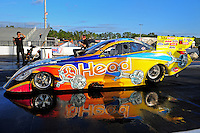 Jan. 17, 2012; Jupiter, FL, USA: NHRA funny car driver Jim Head during testing at the PRO Winter Warmup at Palm Beach International Raceway. Mandatory Credit: Mark J. Rebilas-