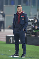 rlos Carvalhal, coach of SC Braga,  during the Europa League round of 32 2nd leg football match between AS Roma and Braga at stadio Olimpico in Rome (Italy), February, 25th, 2021. Photo Andrea Staccioli / Insidefoto