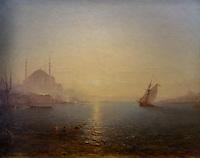 ActiveMuseum_0000060.jpg / Constantinople, Hagia Sophia at sunrise - Felix Ziem - <br />06/06/2013  -  <br />Active Museum / Le Pictorium