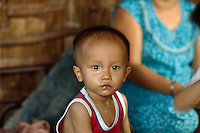 Kind in Chau Doc, Vietnam