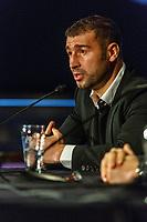 Conference du boxeur Lucian Bute et INTERBOX, le 26 mars 2014 a Boucherville<br /> <br /> <br /> PHOTO : <br /> - Agence Quebec presse