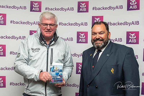 Artful Dodjer was third in IRC spin 1 and second in Club Echo. The prize received by Nieulargo skipper Denis Murphy for Finbarr O'Regan