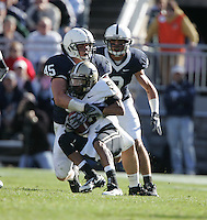 State College, PA -- 11/3/2007 --  defeated by a score of on Saturday, November 3, 2007, at Beaver Stadium...Photo:  Joe Rokita / JoeRokita.com