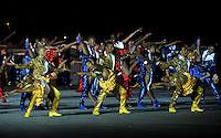 CALI - COLOMBIA - 23-07-2013: Aspectos de la Ceremonia de inauguración de los IX juegos Mundiales de Cali, en el estadio Pascual Guerrero de la ciudad de Cali, julio 25 de 2013. (Foto: VizzorImage / Luis Ramirez / Staff.)  Aspects of the Opening Ceremony of the IX World Games Cali in the Pascual Guerrero stadium in Cali, July 25, 2013. (Photo: VizzorImage / Luis Ramirez / Staff.)