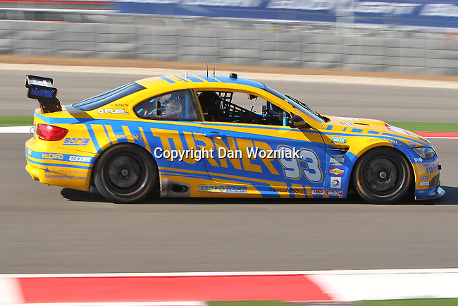 Michael Marsal (93),  Driver of Turner Motorsport BMW M3 in action during the Grand Am of the Americas, Rolex race at the Circuit of the Americas race track in Austin,Texas...