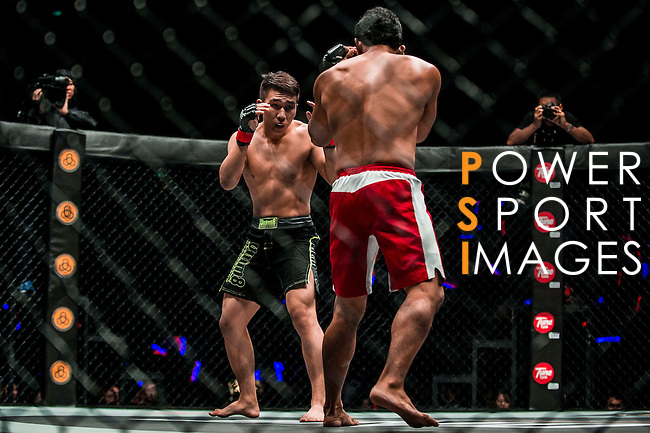 One Championship Heroes of the World Featherweight World Championship Ma Jia Wen of China vs Jimmy Yabo of Philippines on 13 August 2016 at The Venetian Macao Cotai Arena in Macau, China. Photo by Marcio Machado / Power Sport Images