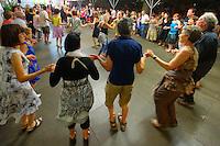 Schottish dansée en ronde