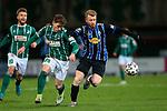 13.01.2021, xtgx, Fussball 3. Liga, VfB Luebeck - SV Waldhof Mannheim emspor, v.l. Florian Riedel (Luebeck, 39), Dominik Martinovic (Mannheim, 11) Zweikampf, Duell, Kampf, tackle <br /> <br /> (DFL/DFB REGULATIONS PROHIBIT ANY USE OF PHOTOGRAPHS as IMAGE SEQUENCES and/or QUASI-VIDEO)<br /> <br /> Foto © PIX-Sportfotos *** Foto ist honorarpflichtig! *** Auf Anfrage in hoeherer Qualitaet/Aufloesung. Belegexemplar erbeten. Veroeffentlichung ausschliesslich fuer journalistisch-publizistische Zwecke. For editorial use only.