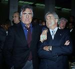 LANDO BUZZANCA CON NINO BENVENUTI<br /> FESTA ALLEANZA NAZIONALE ROMA 2002