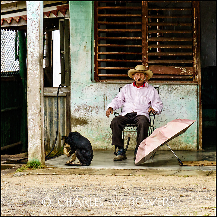 Faces Of Cuba - man and his dog may they never part.<br />