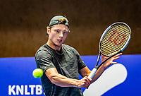 Alphen aan den Rijn, Netherlands, December 22, 2019, TV Nieuwe Sloot,  NK Tennis, Final men single: Tim van Rijthoven (NED)<br /> Photo: www.tennisimages.com/Henk Koster